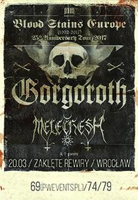 GORGOROTH + MELECHESH / Zaklęte Rewiry / Wrocław