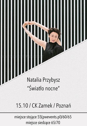 Natalia Przybysz - bilety siedzące