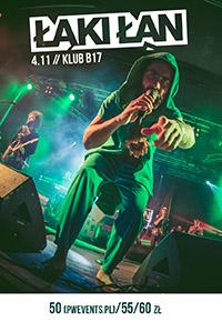 ŁĄKI ŁAN I 04.11 Poznań, B17 I LEĆ TOUR