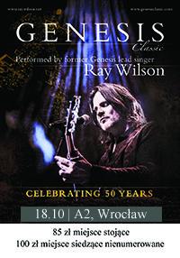 RAY WILSON GENESIS CLASSIC - miejsce siedzące