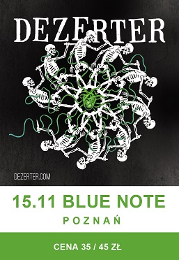 DEZERTER / 15.11 / Blue Note